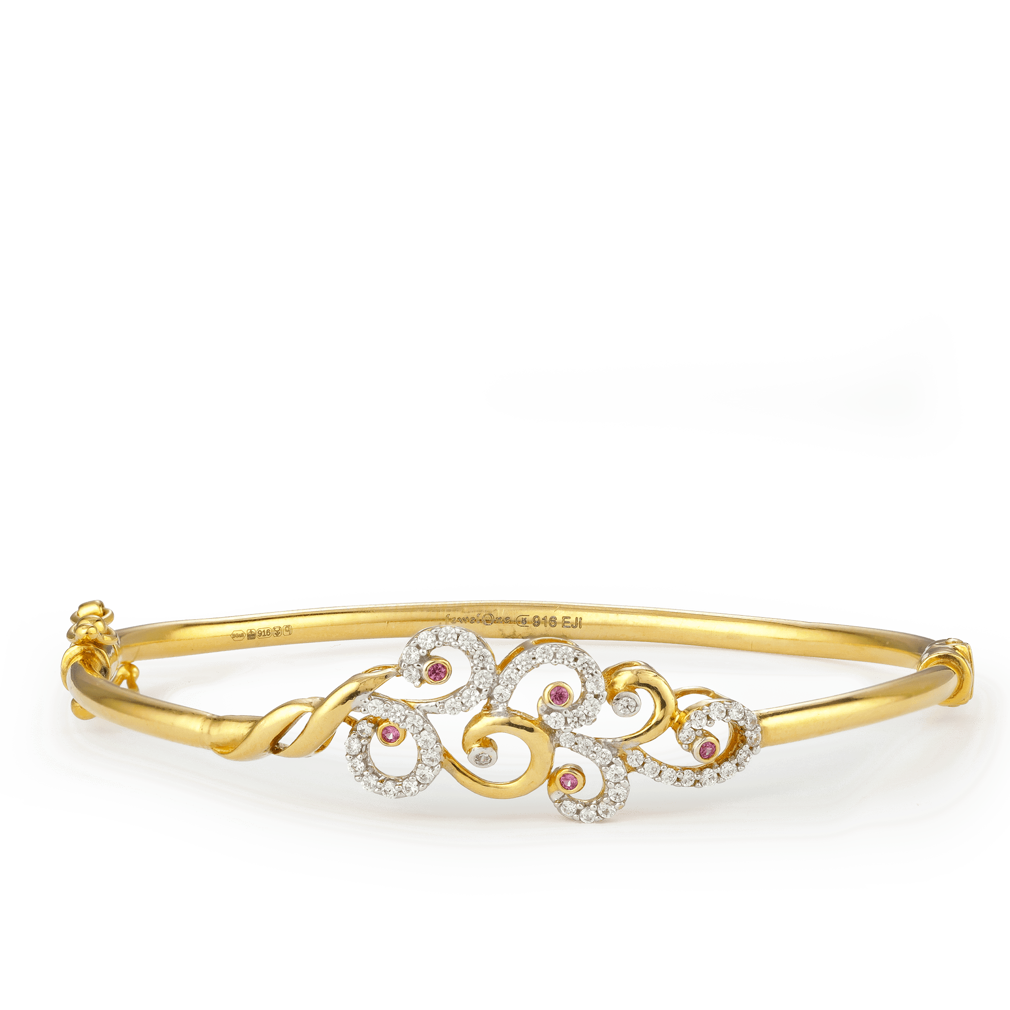 22ct Gold Bangle Bracelet 23391_1