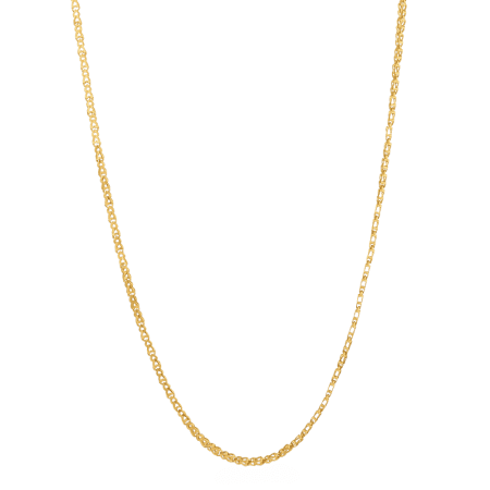22068 - 22ct Gold Fancy Chain in 22 Inches