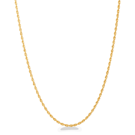 - 22Kt Yellow Gold Rope Chain 20 Inches