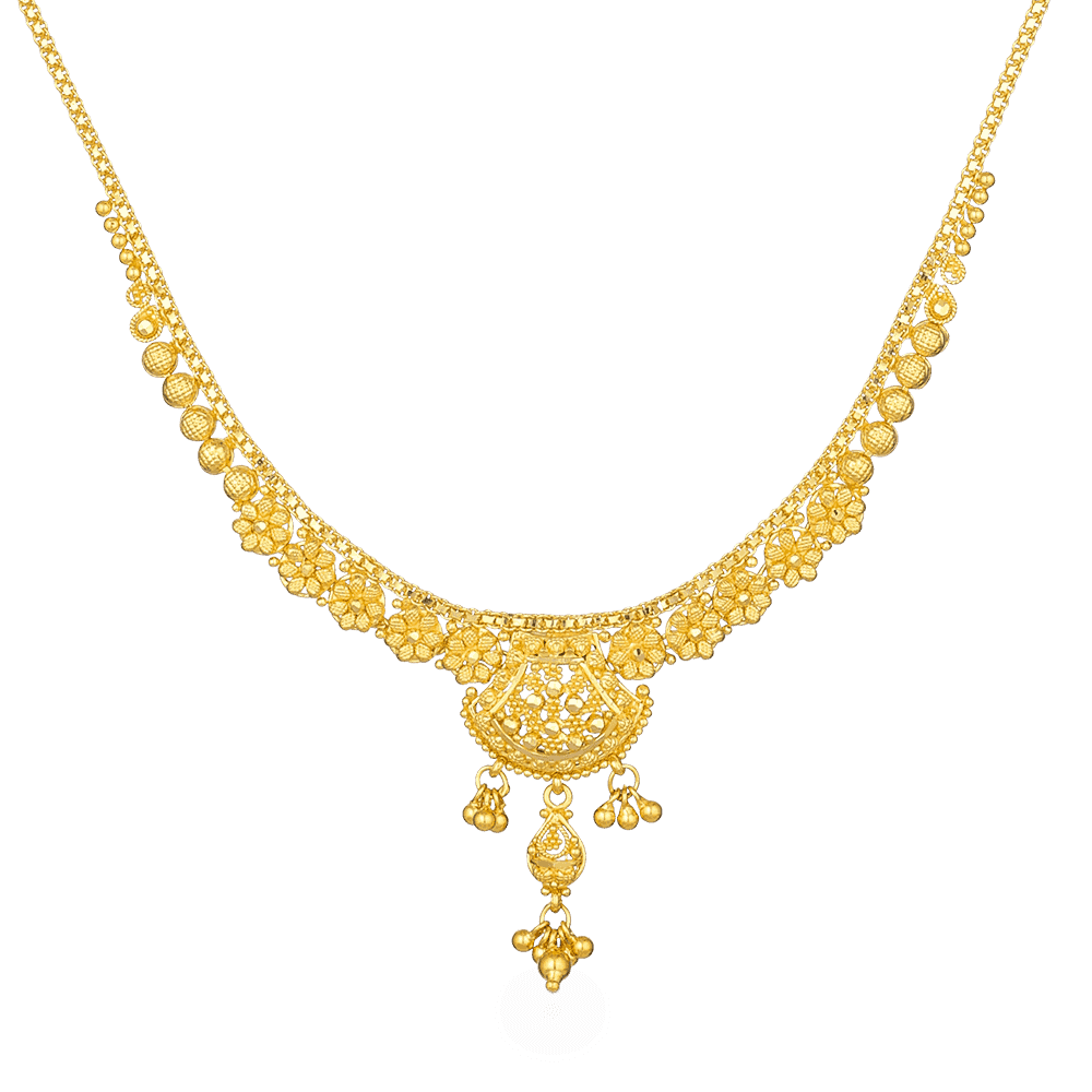 22ct Gold Necklace 26875