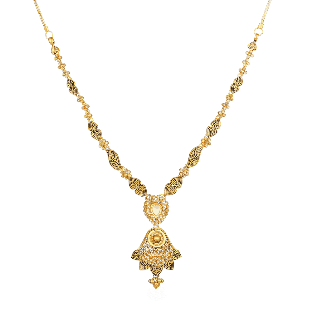 22ct Gold Necklace 27091
