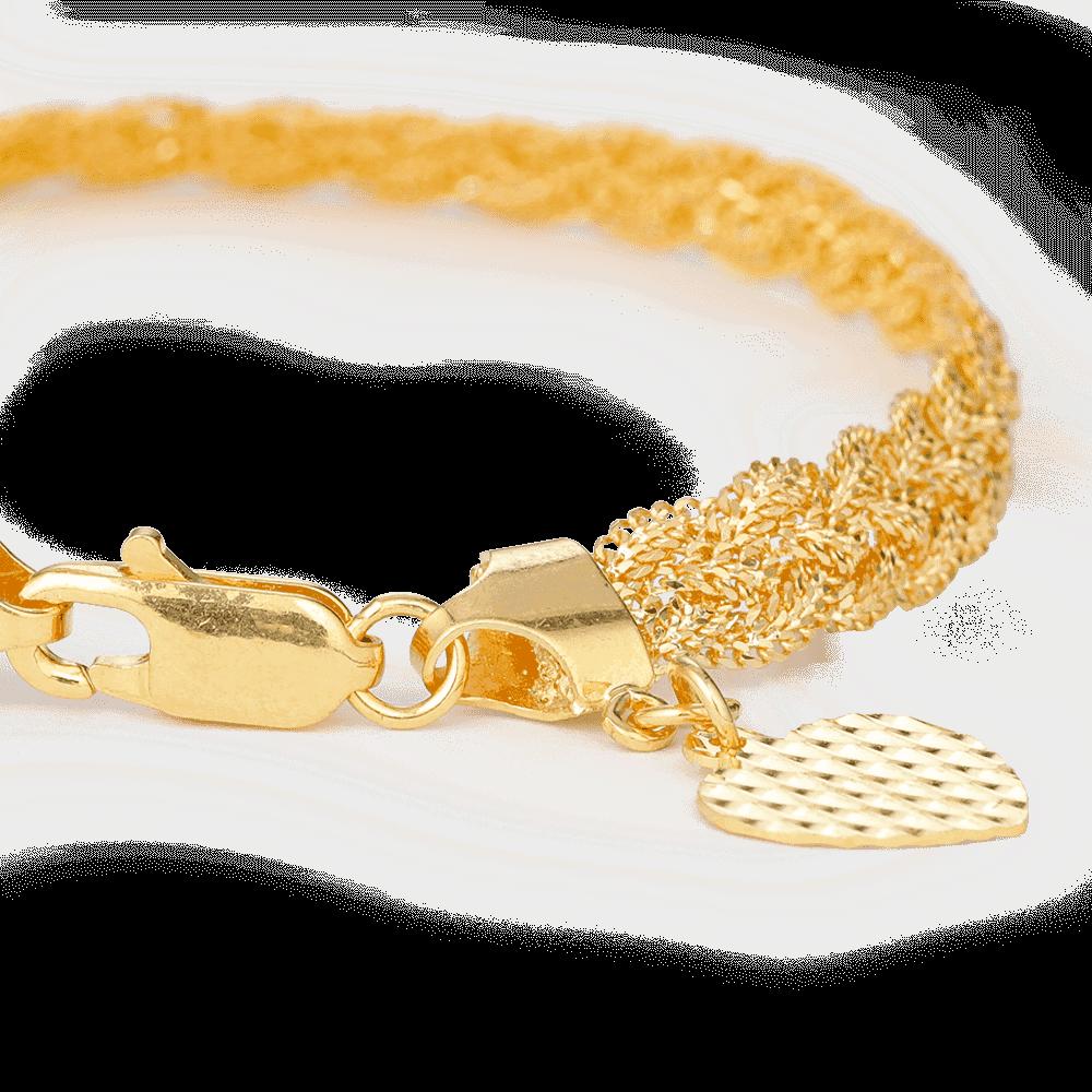 30617 - 22ct Asian Gold Ladies Bracelet