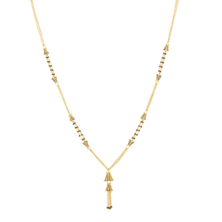 24605_22ct Gold Mangalsutra