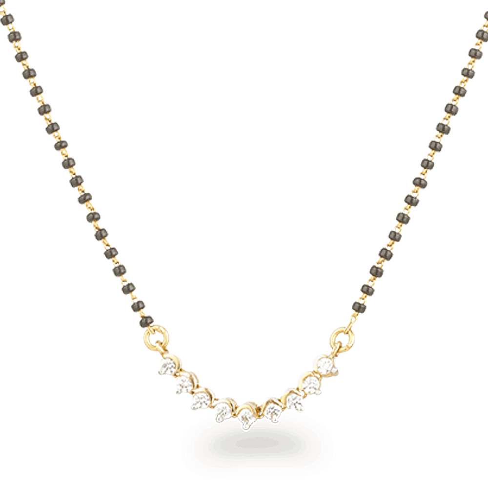 26491 - Indian Gold Jewellery Mangalsutra