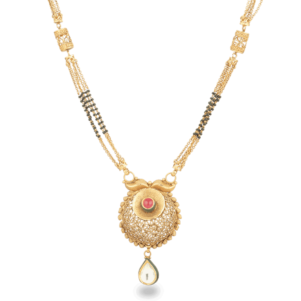 26837 - 22ct Gold Mangalsutra