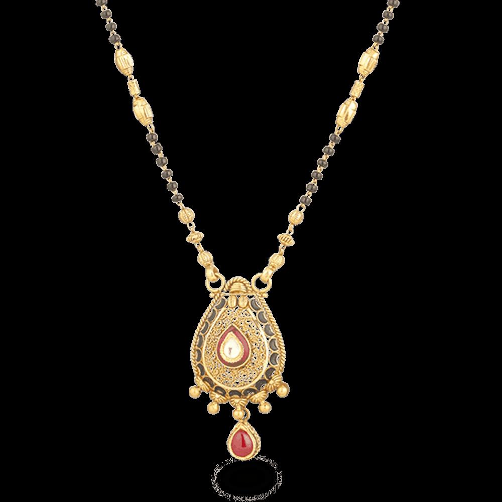 26838 - 22ct Gold Mangalsutra