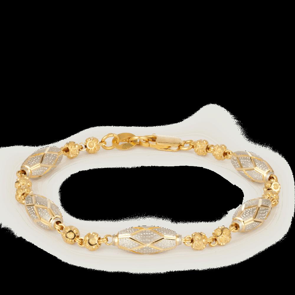 27408_22ct gold bracelet