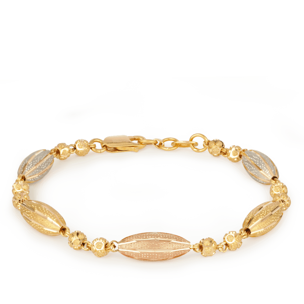 27410 - 22ct Gold Ladies Bracelet