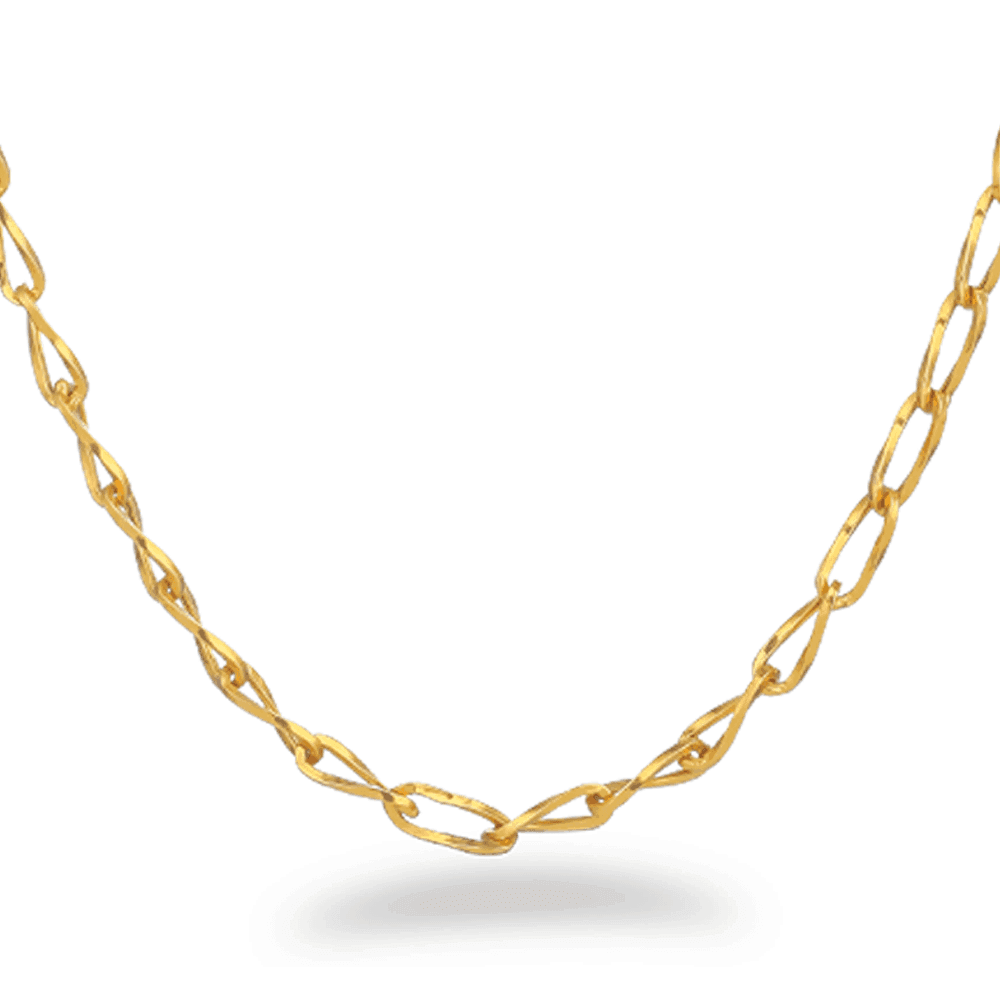 19647 - 22ct Gold Link Chain 20 Inches