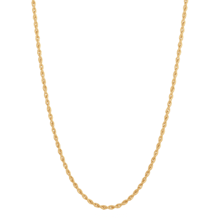 32579 - 22k Gold Rope Chain 18 inches