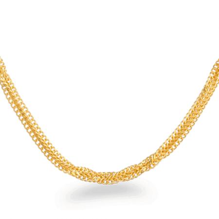 24421 - 22ct Gold Fancy Chain