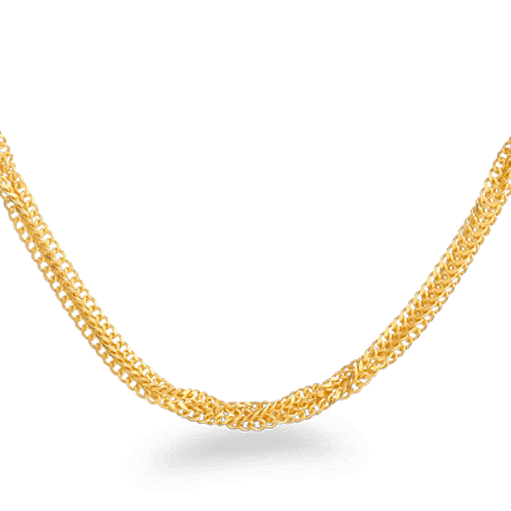 24421 - 22ct Gold Fancy Chain