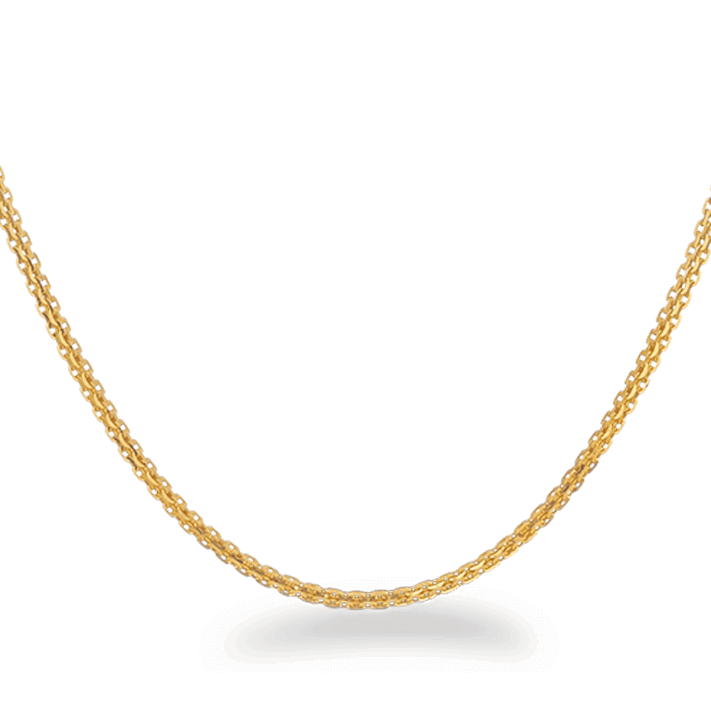 26137 - 22ct Gold Box Chain