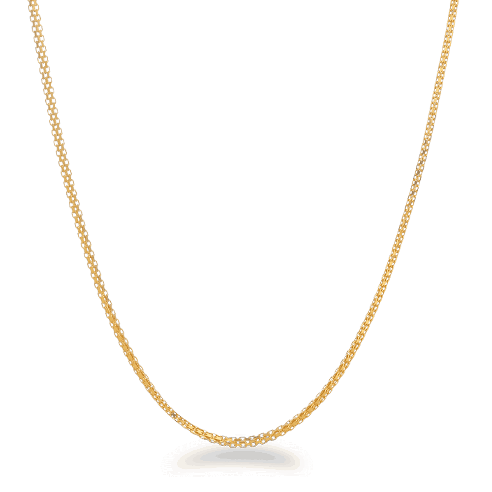 26456 - 22ct Gold Chain 18 Inches