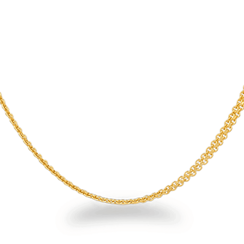 26597 - 22ct Gold Fancy Chain 22 Inches