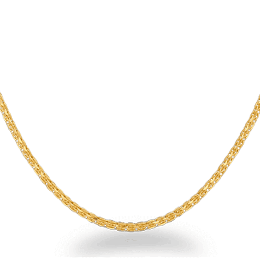 26760 - 22ct Gold Fancy Chain in 22 Inches