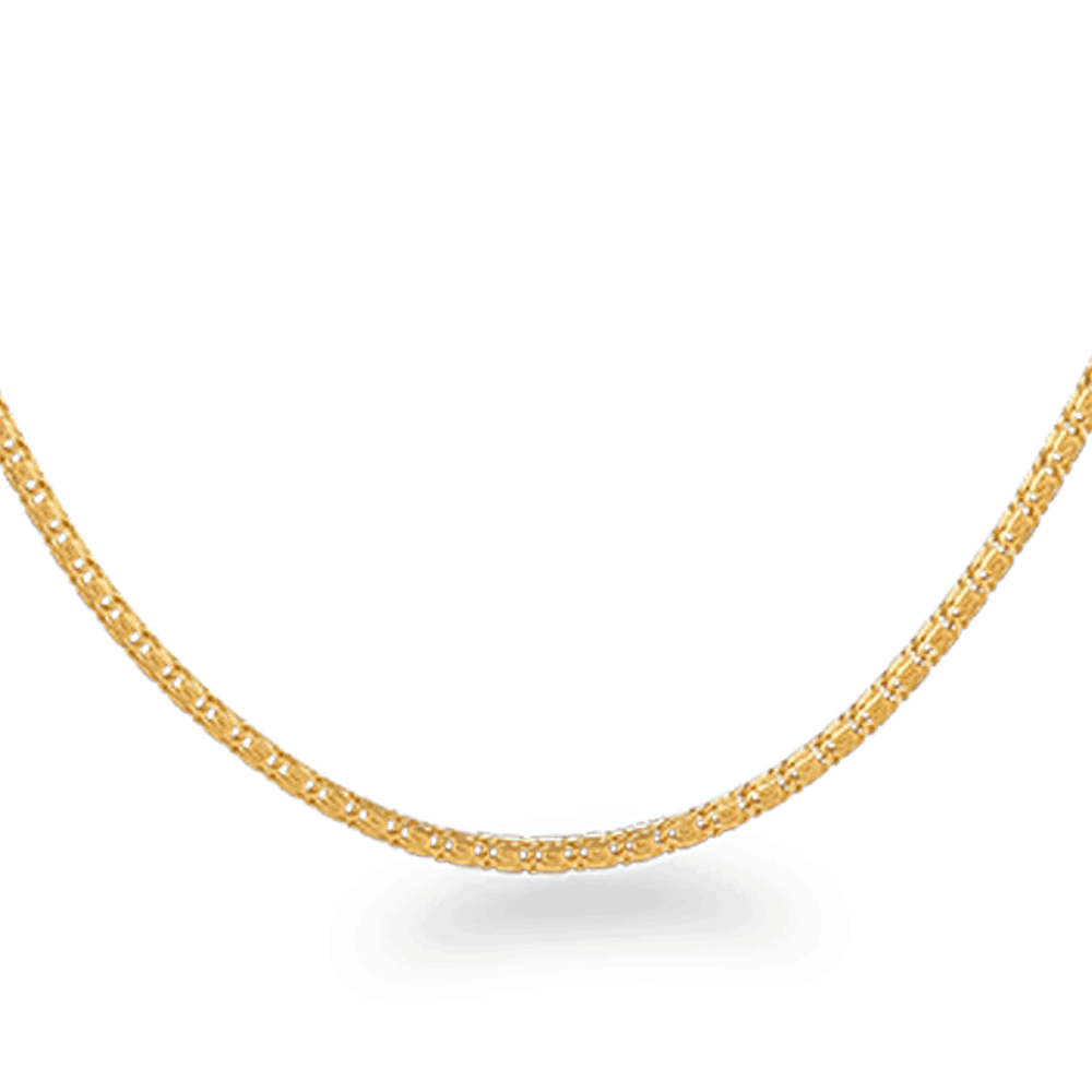 26772 - 22ct Gold Fancy Chain 20 Inches