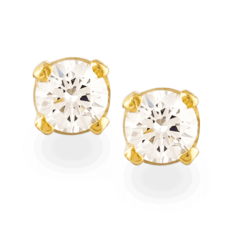 27258_22ct gold ear stud