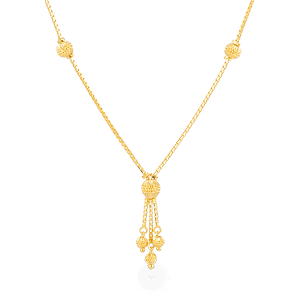 27433 - 22ct Gold Choker Necklace