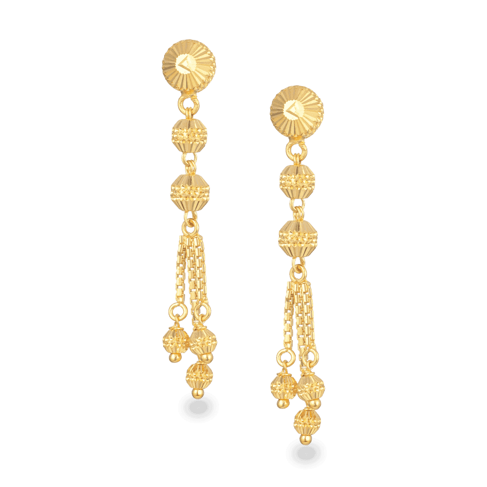 27434 - 22ct Gold Earrings