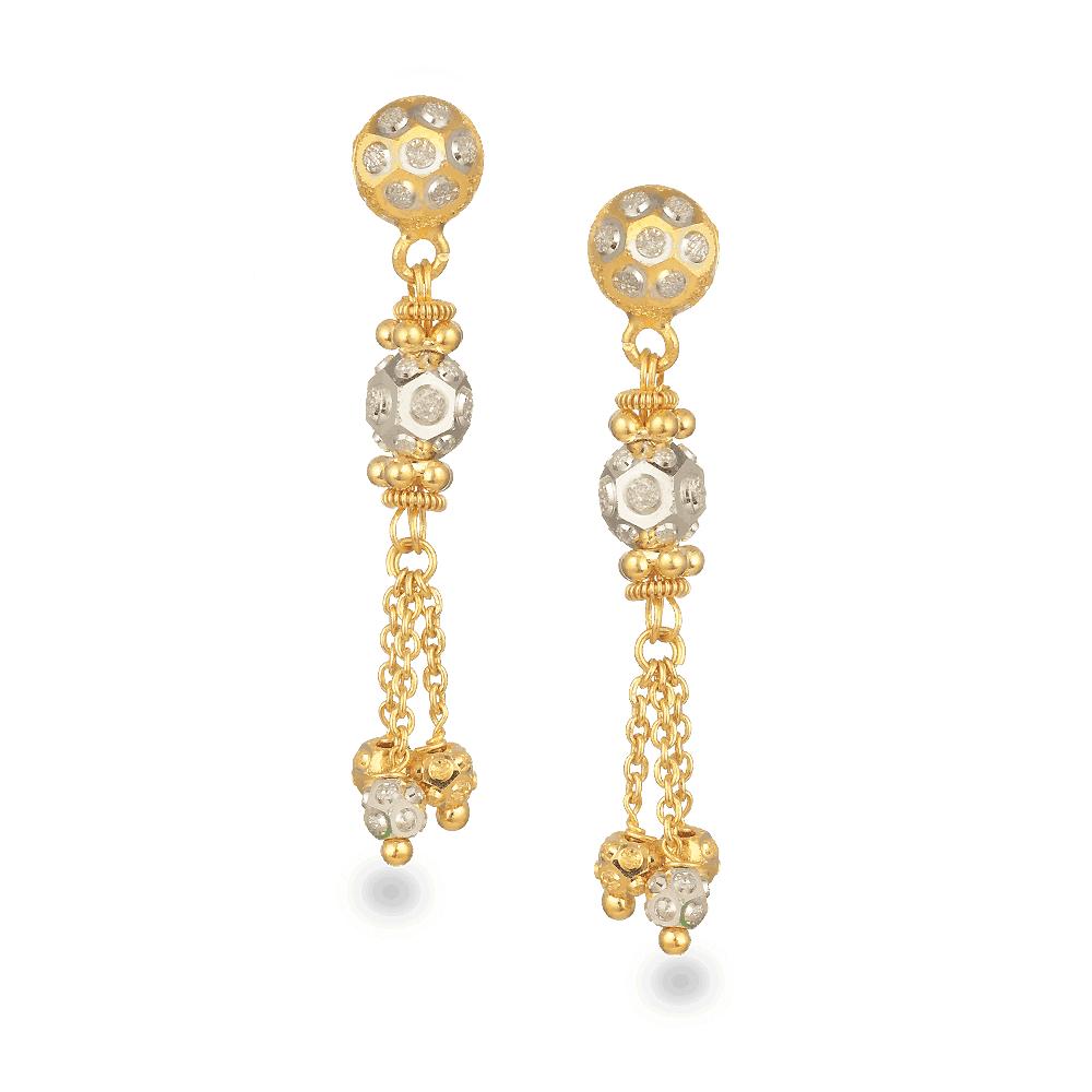 27435 - 22ct Gold Earrings
