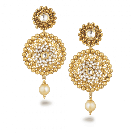 27573 - 22ct Gold Armari Earrings