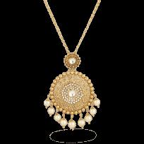 27602 - 22ct Gold Armari Pendant With Chain