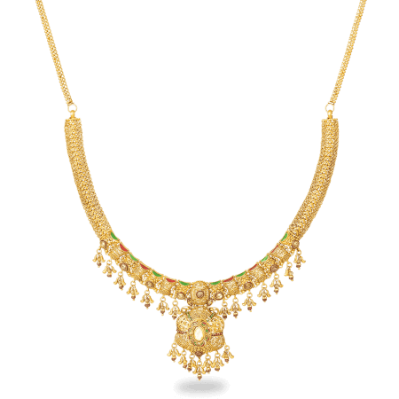 27607_22ct gold necklace