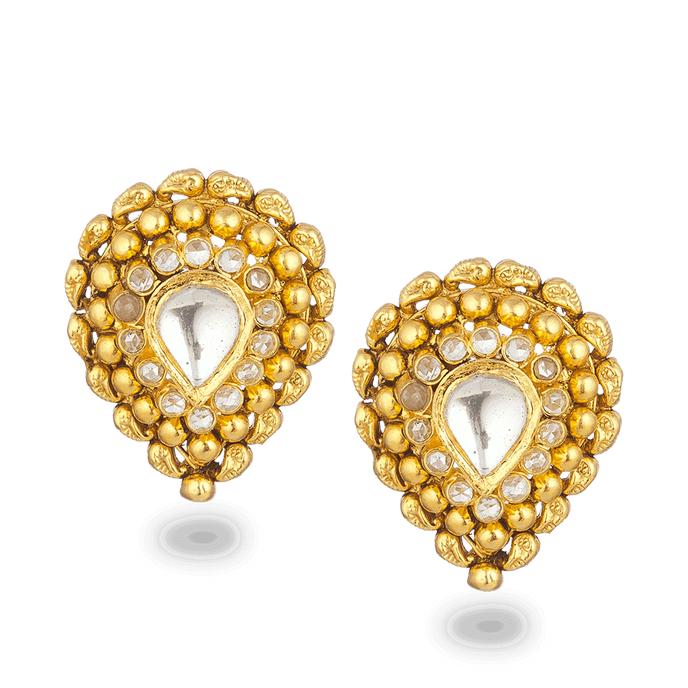 26821_22ct gold stud