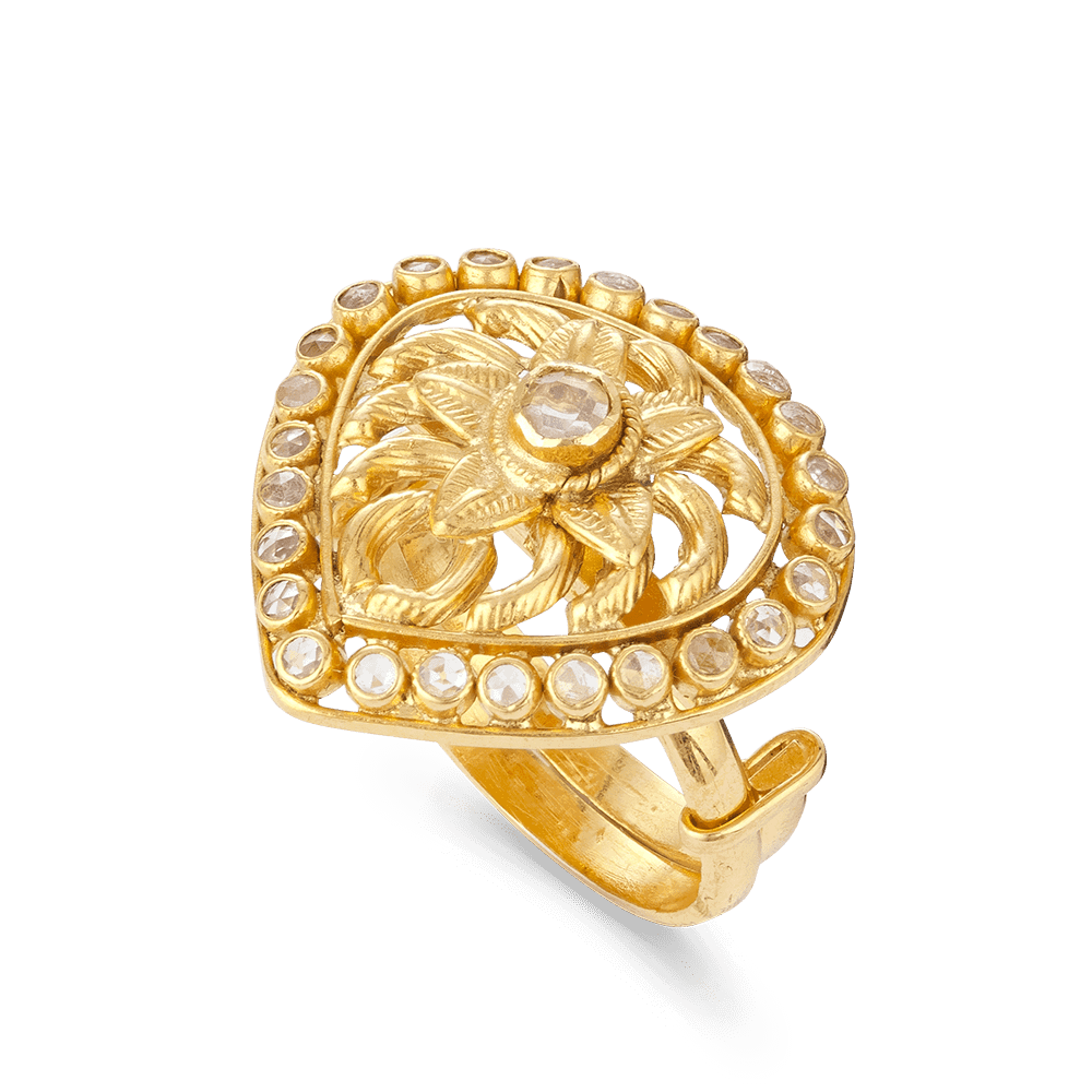 27547 - 22ct Gold Armari Ring