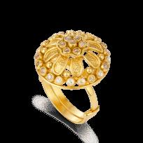 27555 - 22ct Yellow Gold Ring Armari