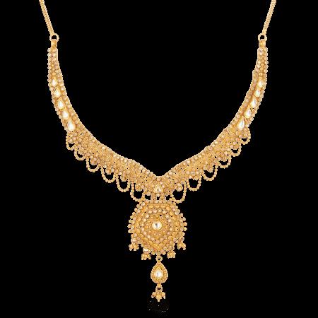 27562 - 22ct Gold Armari Necklace