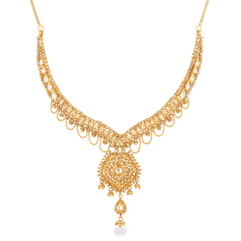 27562 - 22ct Gold Armari Necklace