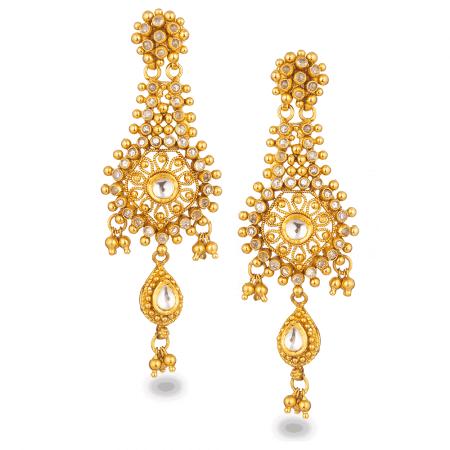 27563 - 22ct Gold Armari Earrings