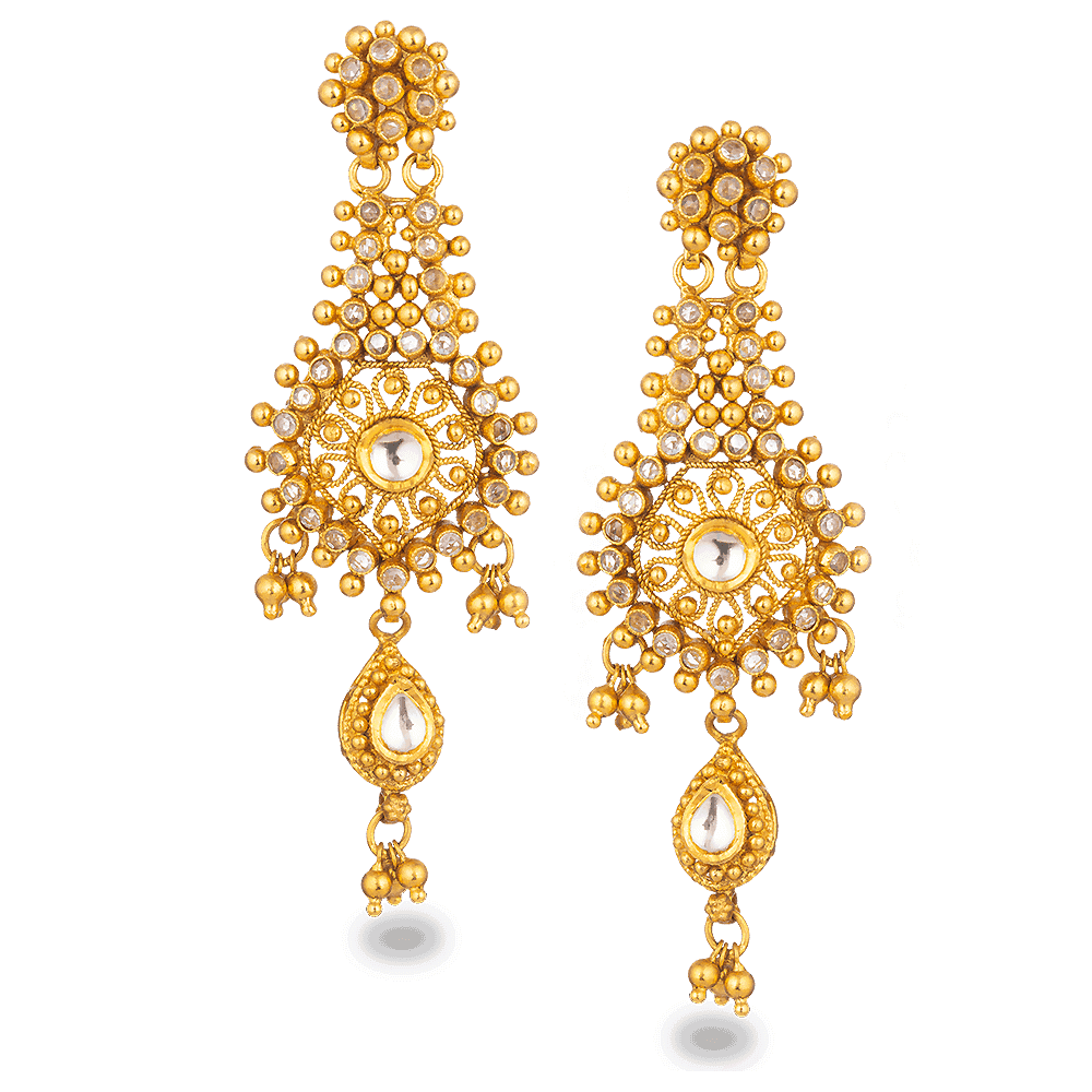 27563 - 22ct Gold Armari Earrings