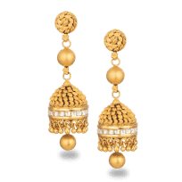 30621 - 22ct Gold Armari Earrings