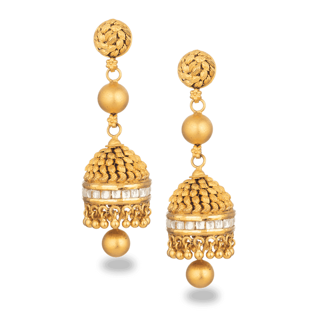 30621 - 22ct Gold Armari Earrings