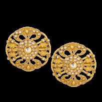 27576 - 22ct Gold Armari Stud Earring