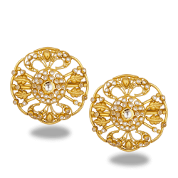 27576_22ct gold stud