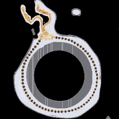 24672 - 22ct Gold Mangalsutra Bracelet