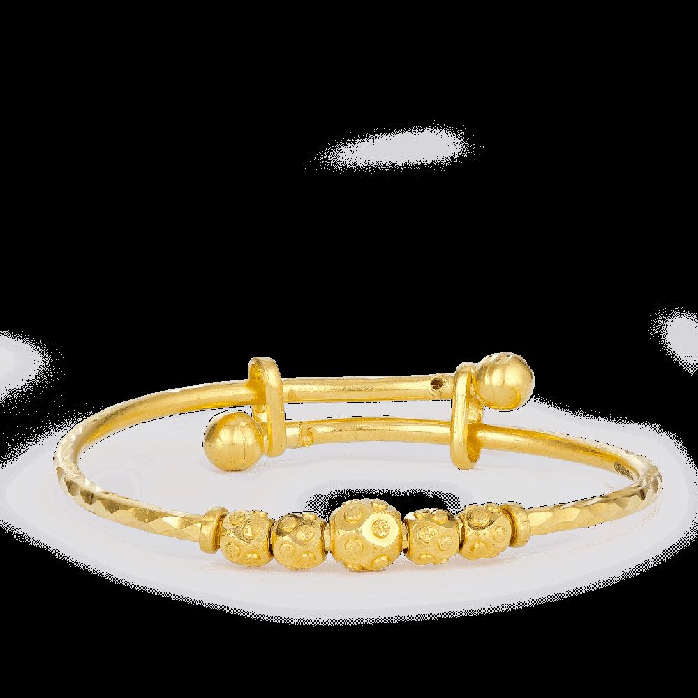 26641 - 22ct Gold Baby Bangle