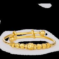 27024 - 22ct Gold Baby Bangle