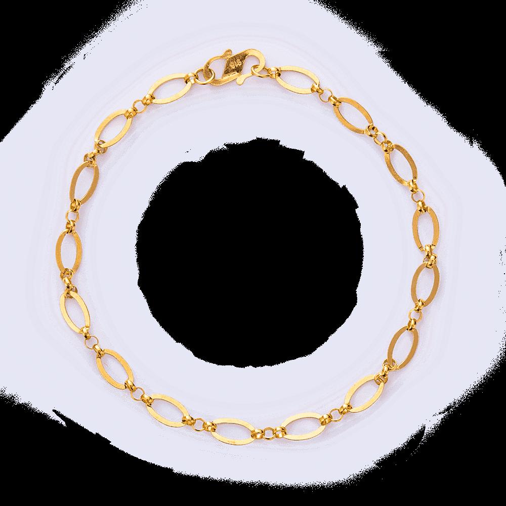 25927 - 22ct Gold Link Bracelet