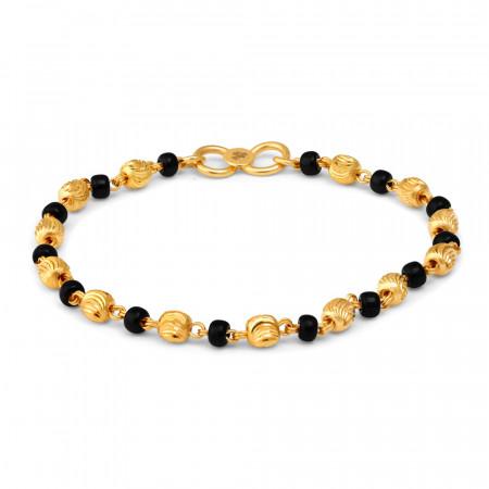 22ct Gold Baby Bracelet 27208-1