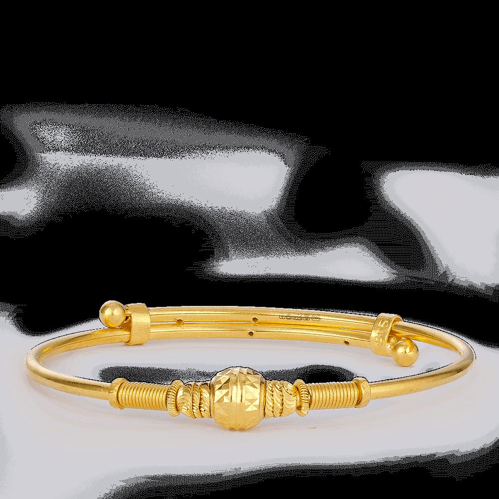 27381 - 22ct Gold Baby Bangle