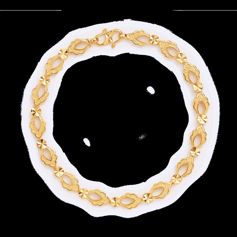 27409 - 22ct Gold Ladies Bracelet