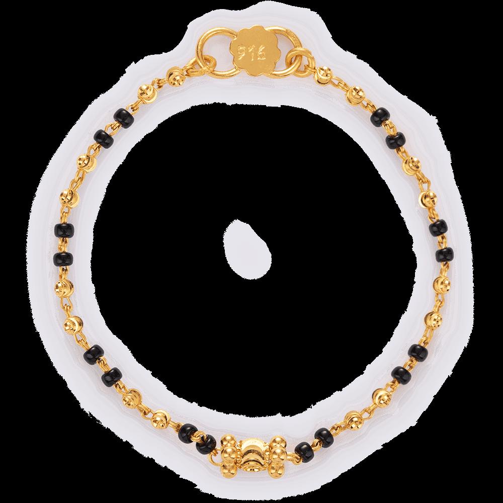 27488 - 22ct Gold Baby Boy Bracelet