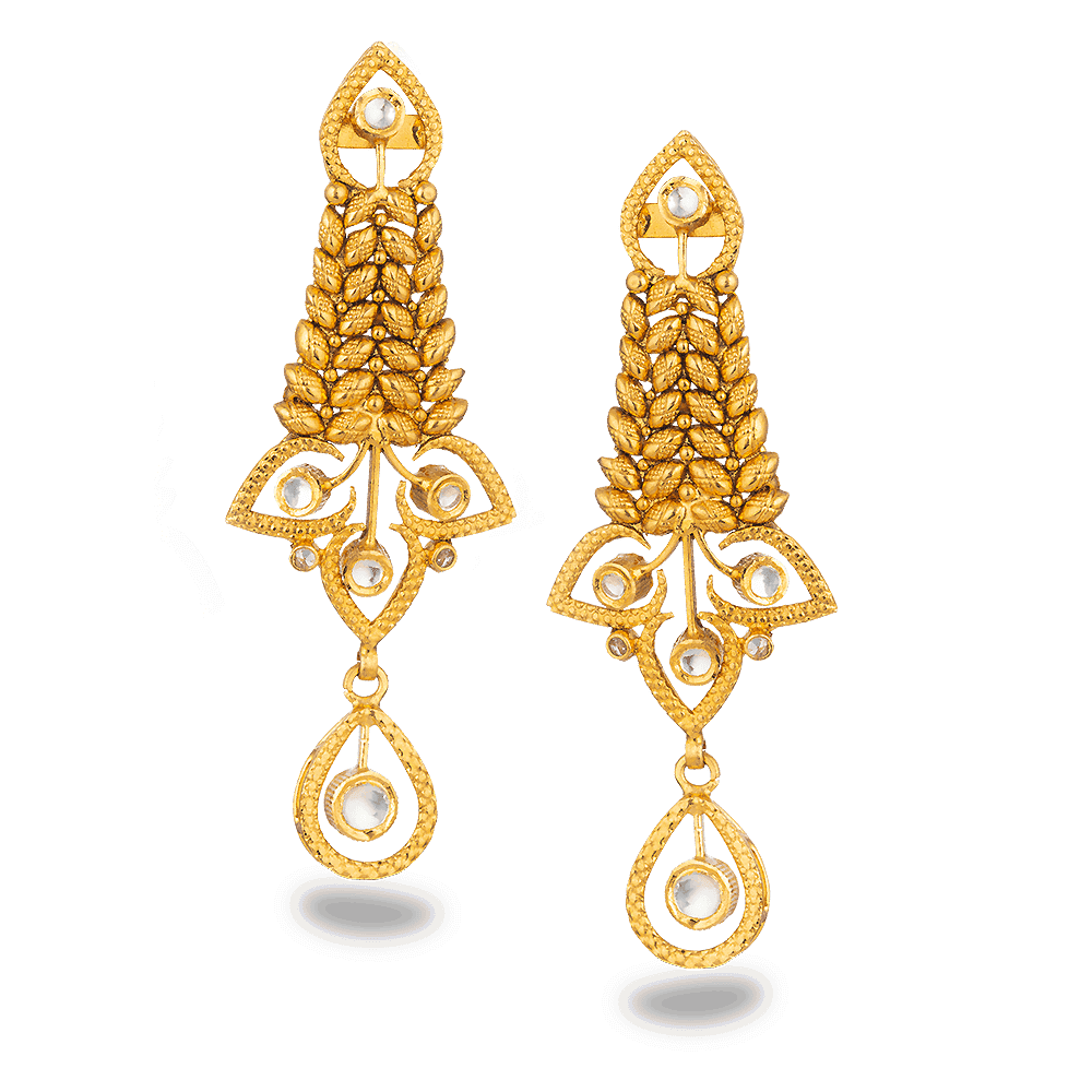 27559 - 22ct Gold Earring