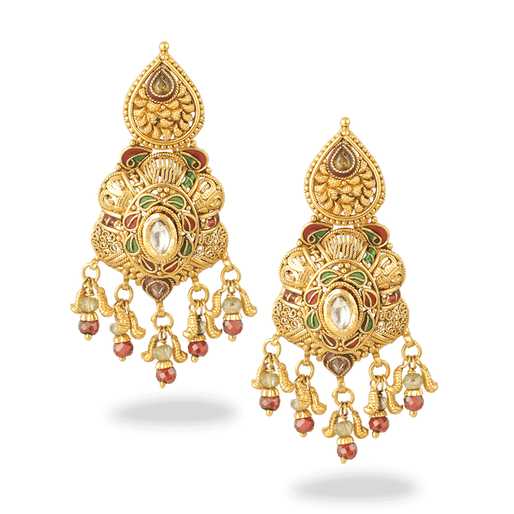 27608 - 22ct Gold Earring