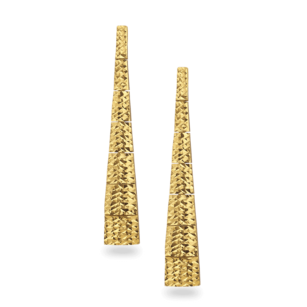31076 - 22ct Gold Earring
